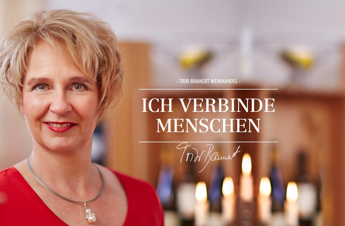 Trixi Banner Weinhandel und Kochschule Münster