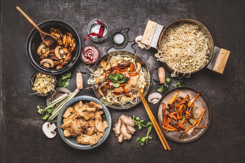 Asiatische Küche kochkurs asiatische küche am 4 märz 2018 trixi bannert
